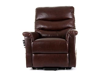 Kenmure Leather Riser Recliner