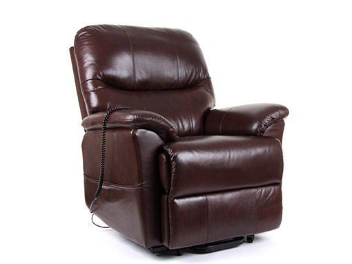 Leather Riser Recliner