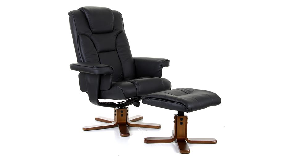 Malmo Leather Swivel Recliner Cheap Mobility Online