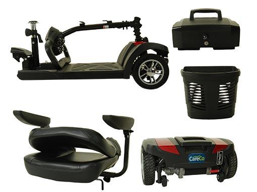 Zoom Mobility Scooter Tiller